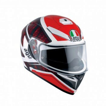 Шлем AGV K-3 SV Multi Pulse Whie/Black/Red