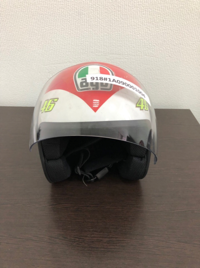 Шлем AGV детский Juniop Open  Valentino S Heart 50