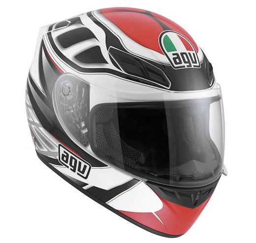 Шлем AGV K-4 Evo Multi Diapason - White/Black/Red