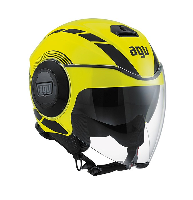 Шлем AGV Fluid Multi Equalizer - Yellow Fluo/Black