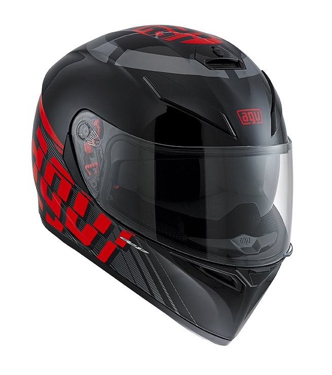 Шлем AGV K-3 SV Multi Myth - Black/Grey/Red