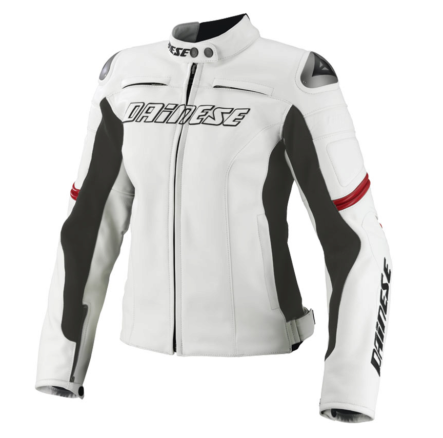 Куртка женская Dainese Racing Lady - Wht/Wht/Red