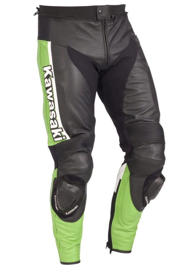 Брюки кожаные Kawasaki Ninja Leather Pants