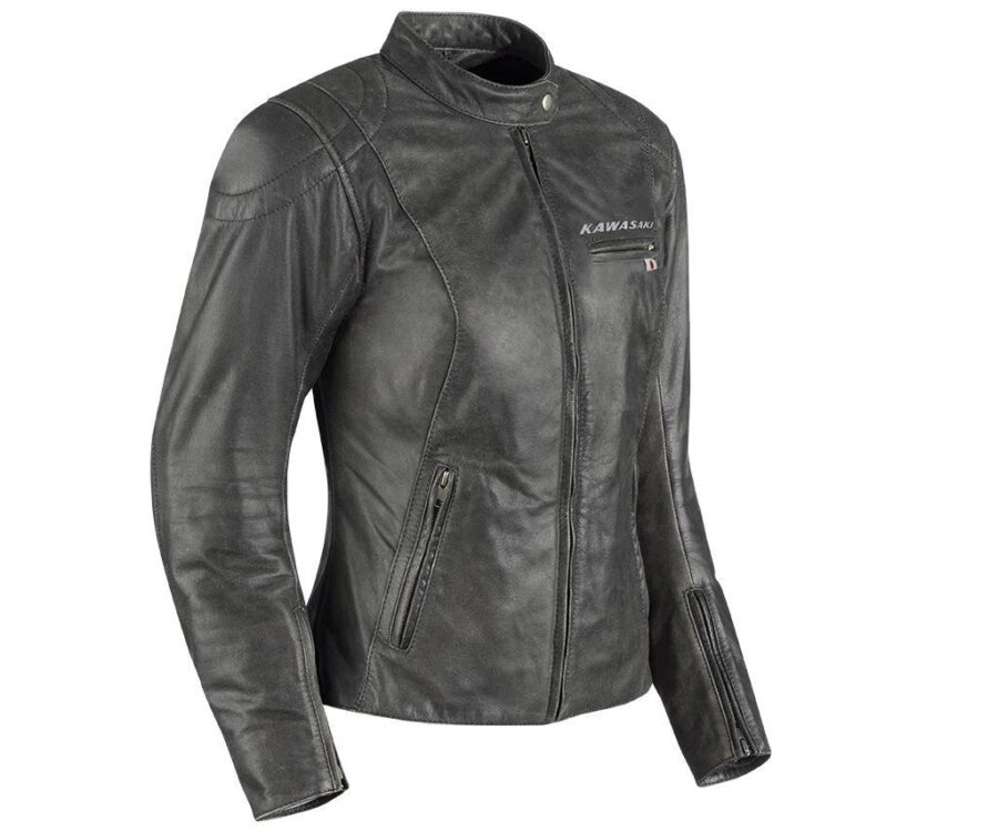 Куртка Kawasaki женская Asphalt Leather Jacket