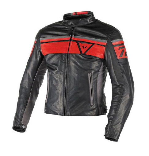 Куртка мужская Dainese Blackjack - Blk/Red/Grey