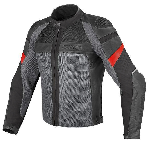 Куртка мужская Dainese Air Frazer - Blk/Gray