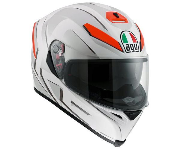 Шлем AGV K-5 Multi You - White Matt/Orange