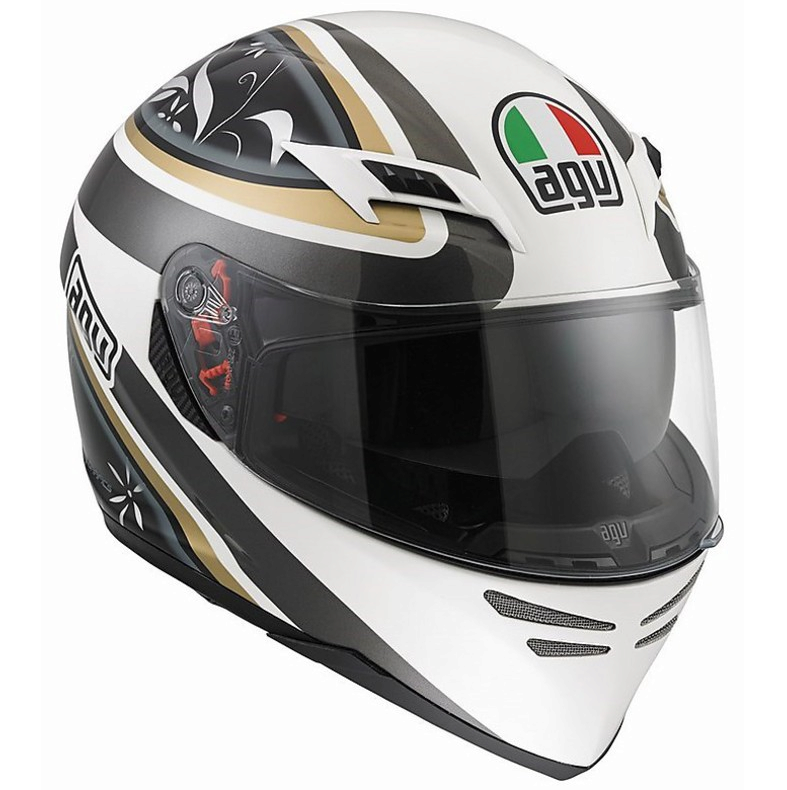 Шлем AGV Skyline Multi Wings - White/Gunmetal