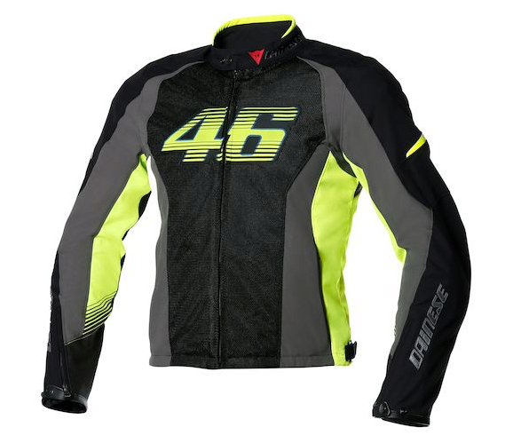 Куртка мужская Dainese VR46 Air-Tex - Blk/Yel