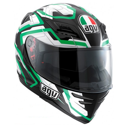 Шлем AGV Horizon Multi Stamina - Black/White/Green