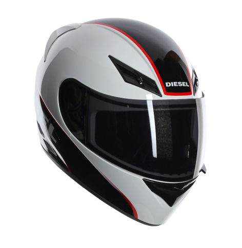 Шлем AGV Diesel Full-Jack Multi Logo - White/Black/Red