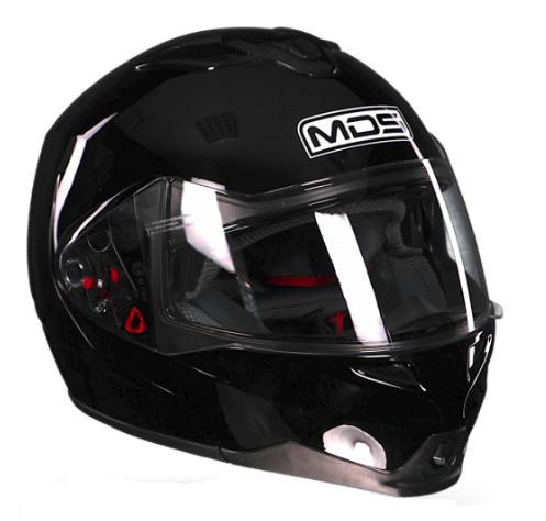 Шлем MDS MD200 Solid - Black