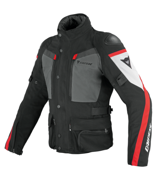 Куртка мужская Dainese Carve Master GTX - Blk/Gray/Red
