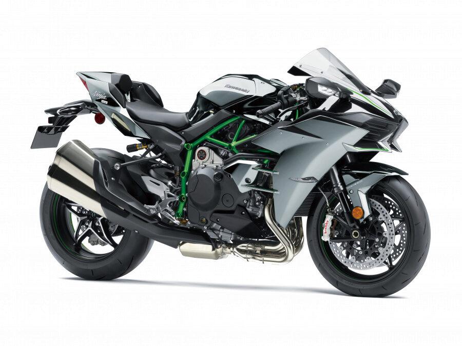 Kawasaki Ninja H2 Серый 2020. Купить в интернет магазине E-Kawasaki.ru