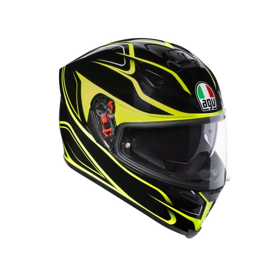Шлем AGV K-5 S Multi PLK Magnitude Black/Yellow FL