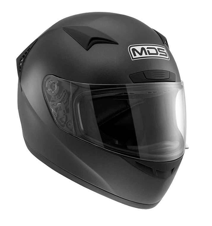 Шлем MDS M13 Solid - Matt Black