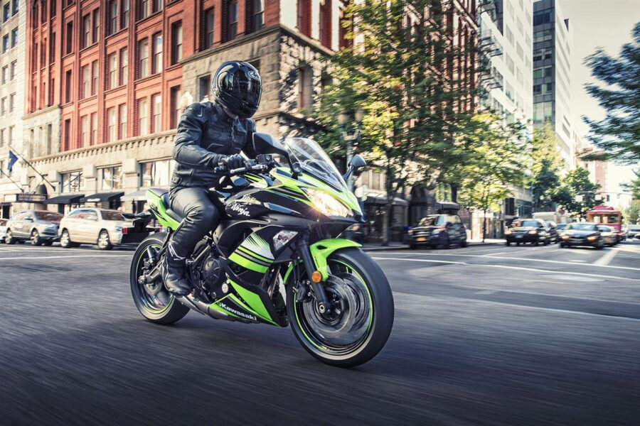 Kawasaki Ninja 650 Abs Krt Edition зеленый 2017 купить в интернет