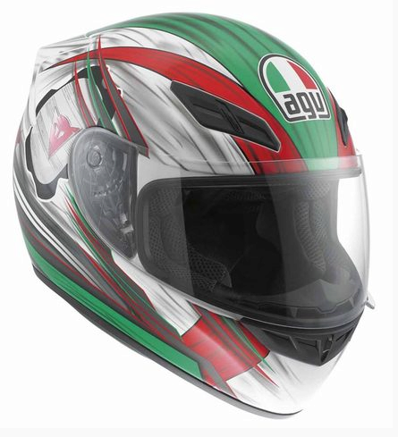 Шлем AGV K-4 Evo Multi Hang-On - White/Red/Green