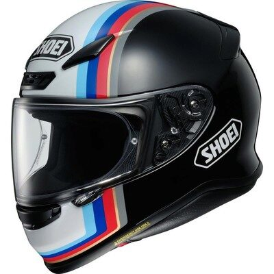 Шлем SHOEI NXR Recounter Black/White/Red/Blue