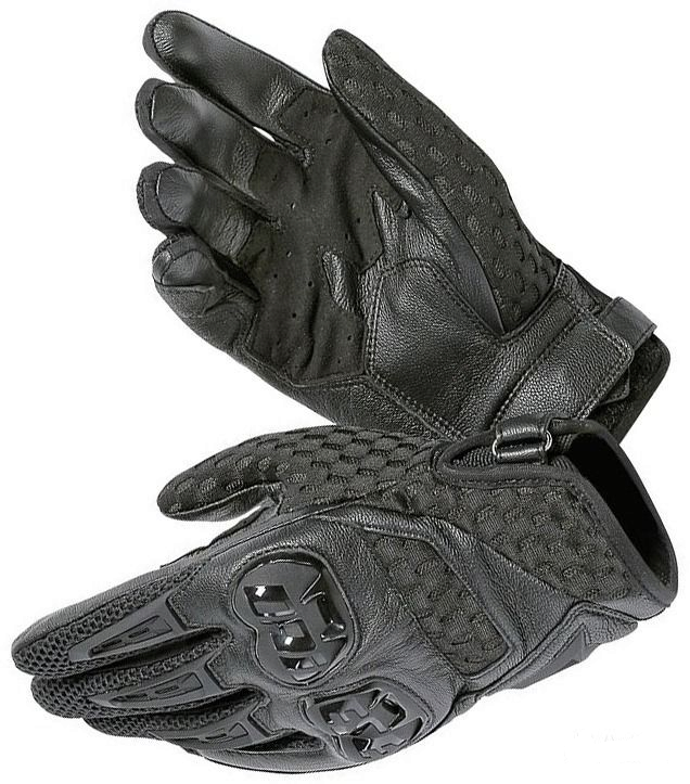 Перчатки мужские Dainese Air Hero Gloves - Blk/Blk