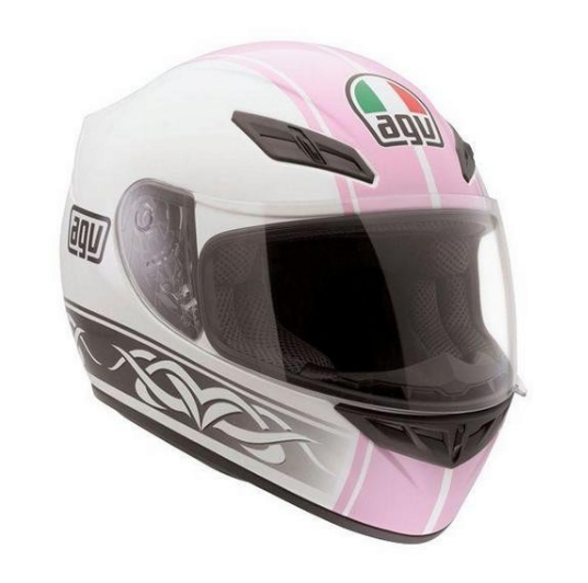 Шлем AGV K-4 Evo Multi Roadster - White/Pink