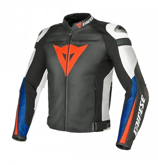 Куртка мужская Dainese Super Speed C2 - Blk/Wht/Blue