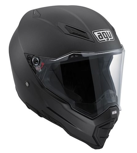 Шлем AGV AX-8 Evo Naked Solid - Matt Black