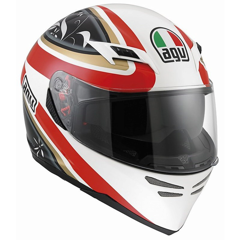 Шлем AGV Skyline Multi Wings - White/Black/Red
