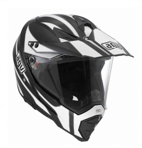 Шлем AGV AX-8 Dual Evo Multi Tour - Black/White