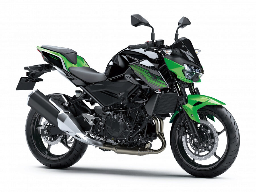 Kawasaki Z400 Зеленый 2020. Купить в интернет магазине E-Kawasaki.ru