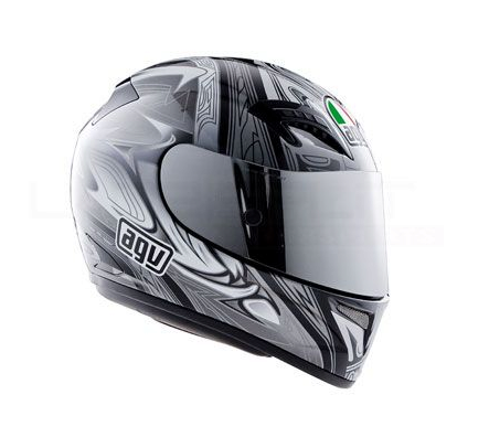 Шлем AGV T-2 Multi Shade - Black/Gunmetal/Silver