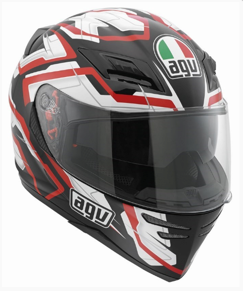 Шлем AGV Horison Multi Stamina - Black/White/Red