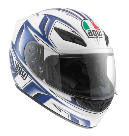Шлем AGV K-4 Evo Multi Arrow - White/Blue