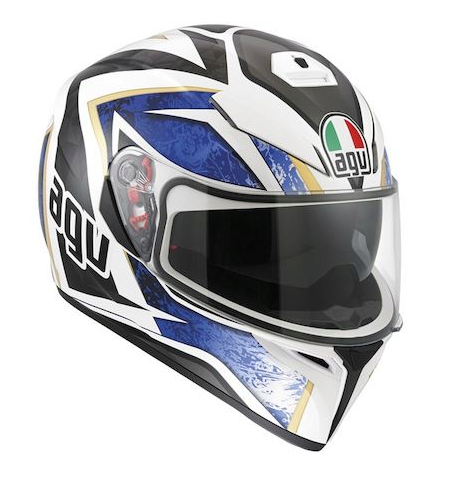 Шлем AGV K-3 SV Multi Vulcan - White/Black/Blue