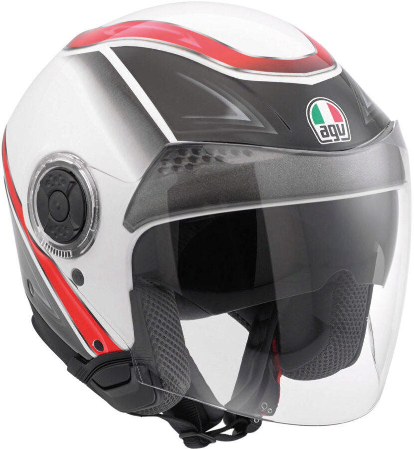 Шлем AGV New Citylight Multi Urbanrace - White/Black/Red