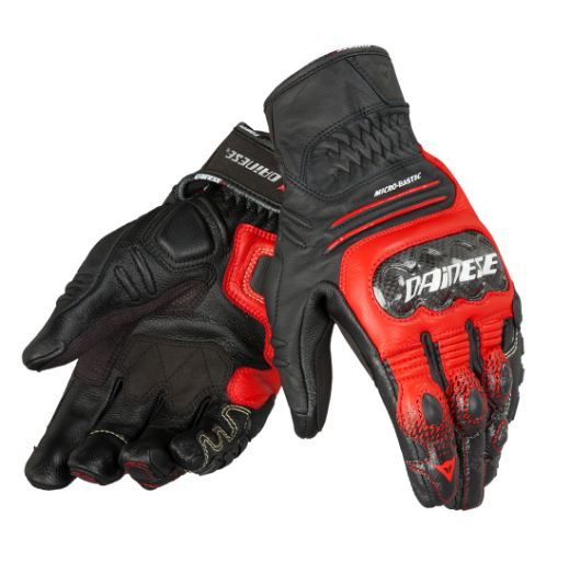 Перчатки мужские Dainese Carbon Cover S-ST Gloves - Blk/Red/Wht
