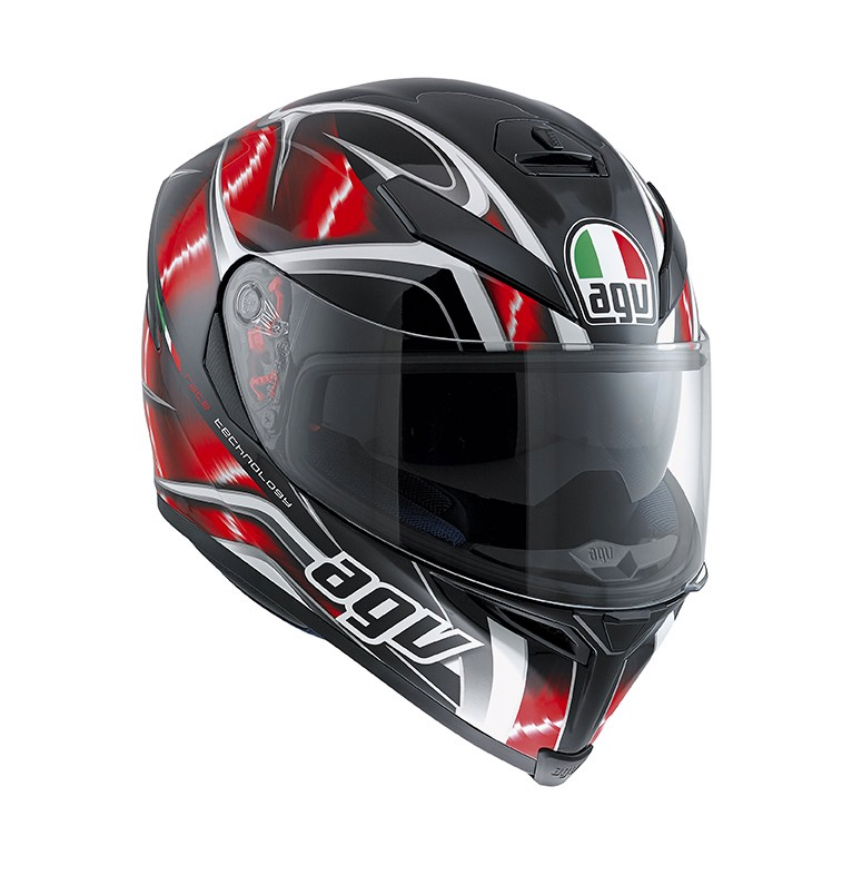 Шлем AGV K-5 Multi Hurricane - Black/Red/White