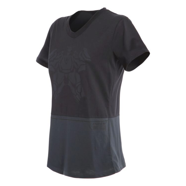 Футболка Dainese Laguna Seca Lady T-Shirt Black/Anthracite  S