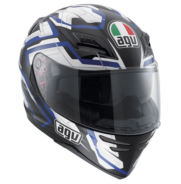 Шлем AGV Horizon Multi Stamina - Black/White/Blue