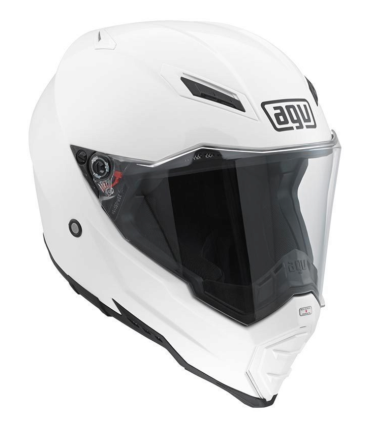 Шлем AGV AX-8 Evo Naked Solid - White