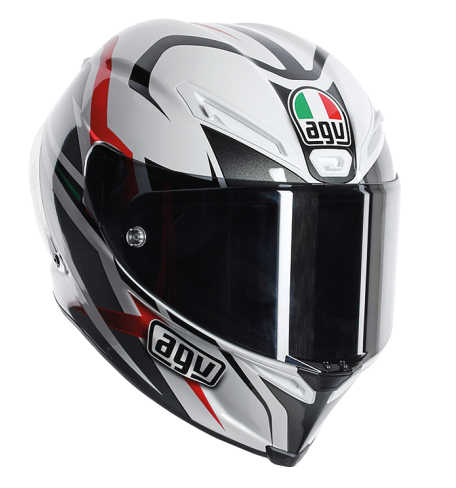 Шлем AGV Corsa Multi Velocity - White/Black/Red