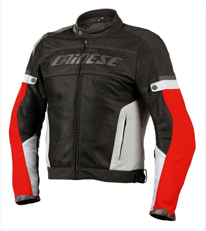 Куртка мужская Dainese Air-Frame Textile - Blk/Red