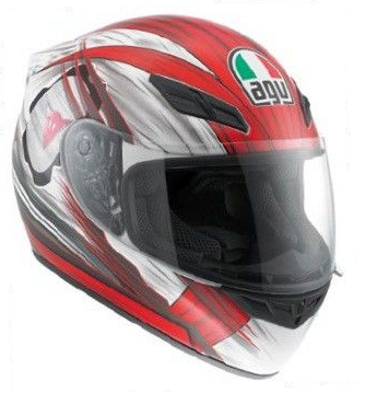 Шлем AGV K-4 Evo Multi Hang-On - White/Red
