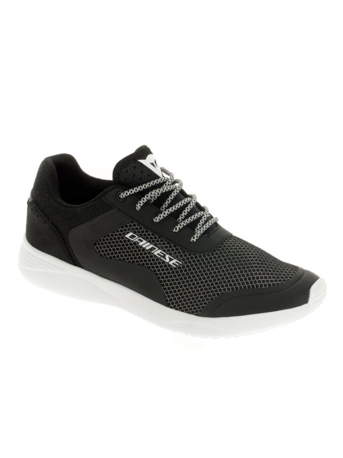 Ботинки мужские Dainese Afterace Shoes Black/Silver/White