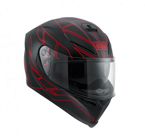 Шлем AGV K-5 Multi Hero - Black/Red