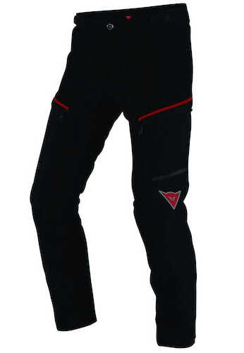 Брюки мужские Dainese Rainsun Pants - Blk/Red