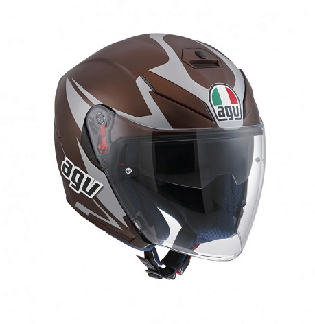 Шлем AGV K-5 Jet Multi Threesixty - Matt Bronze/Grey