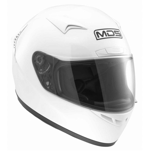 Шлем MDS M13 Solid - White